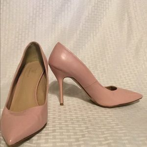 Worthington Pink Leather Pointed Toe Pumps- 8 1/2M